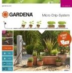 Комплект микрокапельного полива Gardena Micro-Drip-System базовый с таймером Flex (13002-20)