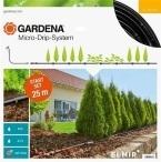 Комплект микрокапельного полива Gardena Micro-Drip-System для рядного полива 25 м (13011-20)