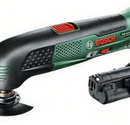 Реноватор Bosch PMF 10,8 LI + 2 Акк