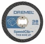 Отрезные круги для пластмассы DREMEL SpeedClic SC476 (5 шт)